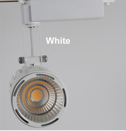 Discount industrial track lighting 2018 industrial track cob led track light 50w 5500lm 85 265v led spot track lights clothing jewelry museum showcase industrial lighting mozeypictures Images