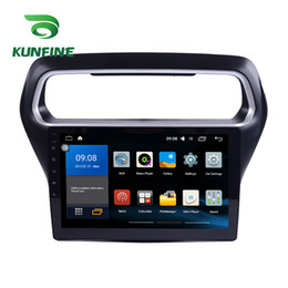Ford Touch Screen Stereo Australia - Octa Core ISP+2.5D 32G Android 7.1 Octa Core Car DVD Player GPS Stereo Navi for Ford Escort 2015-2017 Radio Headunit WIFI Bluetooth