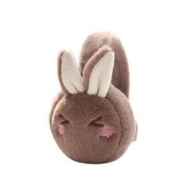 $enCountryForm.capitalKeyWord Canada - MISSKY Women Girl Earmuff Cute Cartoon Rabbit Ear Comfortable Adjustable Winter Warm Outdoors Ear Muffs
