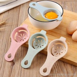 New Cooking Gadgets Australia - 13*6cm Plastic Egg Separator White Yolk Sifting Home Kitchen Chef Dining Cooking Gadget New