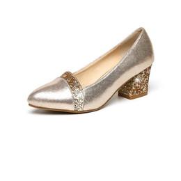 $enCountryForm.capitalKeyWord Australia - New 2018 Designer Fashion Women Shoes Pumps Sexy High Heels Women Black Pointed Toe Block Heels Wedding Shoes Ladies Shoes Chaussures Femme