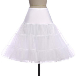 $enCountryForm.capitalKeyWord UK - Pretty Tutus Black White Red Short Petticoat for Cocktail Dresses Crinoline Underskirt for Short Prom Dresses