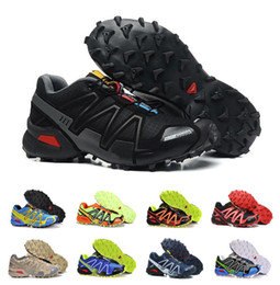 running athletic spikes shoes NZ - 2018 Hot Zapatillas Speedcross 3 Running Shoes Men Speed cross Walking Ourdoor Sport shoes Athletic Shoes Size 7-12
