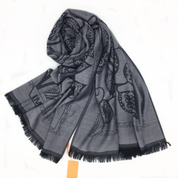 $enCountryForm.capitalKeyWord Canada - New product autumn and winter knitted jacquard leaf pattern cotton grey lady scarf shawl size 200cm - 71cm