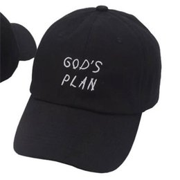abff3c691b9 Drake caps online shopping - Gods Plan Drake Peaked Cap Embroidered  Alphabet Sun Hat Baseball Caps