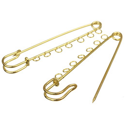 $enCountryForm.capitalKeyWord UK - 10pcs lot 21x90mm Big Large Long Metal Wedding Brooch Safety Pins Needles for Women DIY Jewelry Findings Wholesale F2174