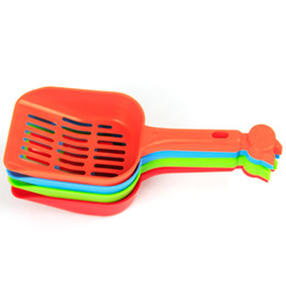 China Pet Products Shovel Cat Litter Shovel Plastic Scoop Cats Grooming Sand Cleaning Dog Food Spoons Supplies Top Quality 1tt Z cheap plastic shovel spoons suppliers