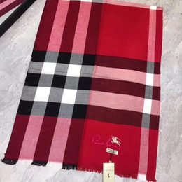 $enCountryForm.capitalKeyWord NZ - Red tencel cotton material feels soft and classic plaid style fashion wild,luxury scarf,luxury brand designer scarf,brand scarf