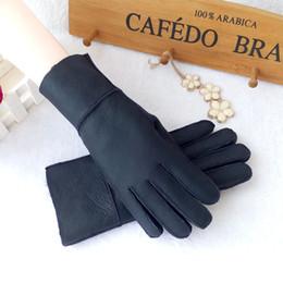 $enCountryForm.capitalKeyWord Australia - Qulity Winter Women's Warm Gloves 100% Real Fur Female Ladies mitts Genuine Leather Gloves Mittens antifreezing ski