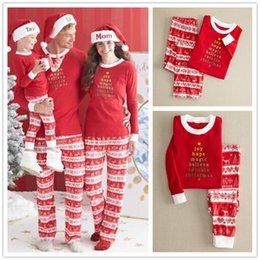 1802d0fe15 Retail Autumn Winter Warm Christmas Women Men Adult Kids Family Matching  Outfits Pajamas Sleepwear Nightwear Long Johns Pajamas Set