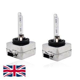 Venta al por mayor de Bulbos de repuesto de la linterna de xenón D1S 35W HID 4300K-12000K Paquete de 2 bulbos M0012 6 opciones (UK STOCK)