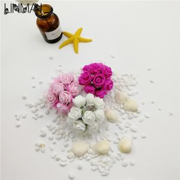 Shop paper flowers for party display uk paper flowers for party 144pcs diy small rose paper foam flowers artificial flowers heads multicolor for wedding home party decoration mightylinksfo