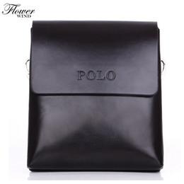 8dfb61a0fb FLOWER WIND Lowest price 2017 New hot sale PU Leather Men Bag Fashion Men  Messenger Bag small Business crossbody shoulder Bags