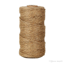 $enCountryForm.capitalKeyWord UK - 300 Feet Natural Jute Twine Best Arts Crafts Gift Twine Christmas Twine Industrial Packing Materials Durable String for Gardening