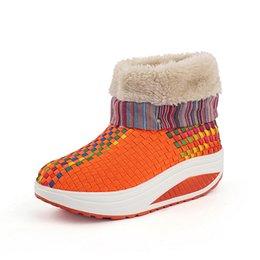 Женская тонировка обувь качели клинья платформы теплый открытый спортивные тренеры спортивные кроссовки женщина обувь зима теплая