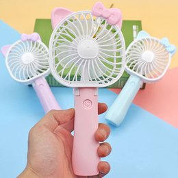personal cooling fan 2019 - Baseus Protable Handheld Fan Mini USB Rechargeable Fan with Battery Quiet Desktop Personal Cooling Fan c583