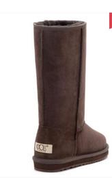 $enCountryForm.capitalKeyWord NZ - New Women's UG58_15 Classic Tall Boots Waterproof Genuine Leather Snow Boots Warm For Women Snow boots
