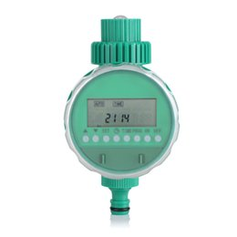 Electric Gardening Tools NZ - Digital Garden Irrigation Timer Automatic Electric Time Controller Intelligent Flowers Watering Controller Timer Garden Tools