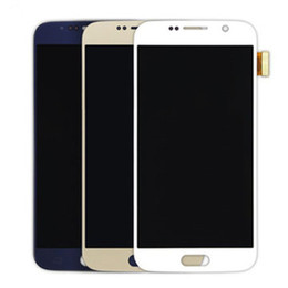 China Hot! For Samsung Galaxy S6 100% Original screen Quality A+++ G920 G920F G920A G920T lcd Screen Display Touch Screen Digitizer Assembly suppliers
