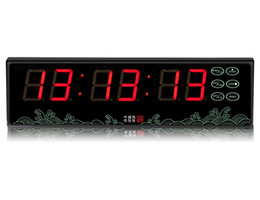Chinese  [GANXIN]1.5 inch 6 digits Multi-function Timer Battery Used Led Display Desktop Countdown Clock With Remote Control manufacturers