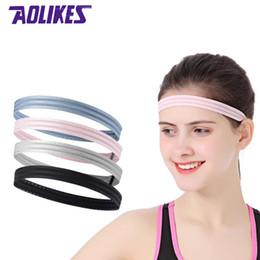 6990abb626e9f AOLIKES 1 Pcs Elastic Yoga Hair Band Running Fitness Gym Accessories  Headband Sport For Men Women Hairband Head Sweat Band