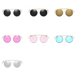 Vision alloy online shopping - Retro Round Lens Men Women Sun Glasses Clear Vision Fashion Outdoor Sunglasses Ultraviolet Proof Eyeglasses Suit Many Facial xf Z