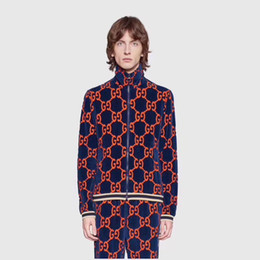 Velour Sweat Suits NZ - Fashion luxury brand GJ velvet designe Men's Tracksuits printing sweatsuit women tracksuits ~ tops mens training jogging sweat track suits