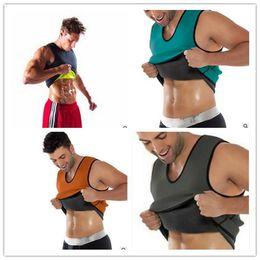 2fb3db2fef 20pcs DHL mens body shapers vest Hot Shapers Men s Compression Slimming  Shirt Redu Shaper Vest Waist Trainer T Shirt Hot Body Shaper