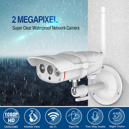 Wireless Waterproof Bullet Camera Australia - Waterproof Bullet WiFi IP Camera 1080P Outdoor Security Waterproof Night Vision Video Surveilance CCTV Wireless Surveillance Camera
