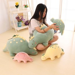 Discount kawaii cushion - 30-85cm Kawaii Dragon Plush Toys Soft Stuffed Cartoon Animal Dinosaur Doll Sofa Decoration Pillow Cushion Kids Birthday