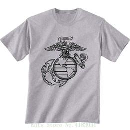 a40361ec2 Marine T Shirts NZ - Usmc Marines Eagle , Globe And Anchor Short Sleeve T  shirt