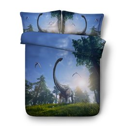 3d Bedding Sets King Australia - 3D forest Duvet Cover Animal Dinosaur Bedding Sets Bedspreads Holiday Quilt Covers Bed Linen Pillow Covers full queen king cal king bed sets