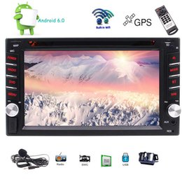 Discount black dvd rom - Quad Core 1G RAM+16G ROM 2 Din Android 6.0 Universal Radio Double Din Car DVD Player GPS Navigation in Dash Autoradio Vi