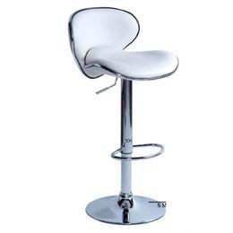 Großhandel Mode Haushalts Aufzug Stuhl European Style Einstellbare Rezeption Bar Stühle Bequeme Red Möbel Klassische Hocker Hoher Grad 110sm Ww