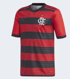 06f5be27754 18 19 flamengo jersey 2018 2019 Flemish GUERRERO DIEGO VINICIUS JR Soccer  Jerseys Flamengo home red black sports football shirt