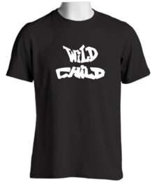 Free Christmas Gifts For Children Australia - Wild Child Mens Funny T Shirt Slogan Novelty Gift Idea for Christmas Birthdays Funny free shipping Unisex Casual tee gift