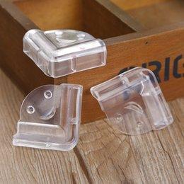 L funda protectora de ángulo de mesa transparente para niños con protección contra choques de seguridad para bebés a prueba de choques en venta