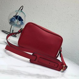 Canvas Camera straps online shopping - new style real leather women bag PA famous designer camera bag double strap lady fashion crossbody shoulder bag