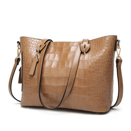 fd1f5e7cae7 Women Handbag Cross Body New Products Hot Sale European and American Fashion  Large Bag Crocodile Pattern Single Shoulder Bags
