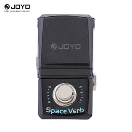 Mini guitar effects online shopping - JOYO JF Space Verb Digital Reverb Mini Electric Guitar Effect Pedal with Knob Guard True Bypass