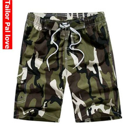 short trunks for men UK - Camouflage Board Shorts Men Boardshorts Men's Beach Shorts For Swimming Bermuda Surf Swimsuit Man Swimwear Trunks Short Pants