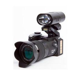Full Frame Camera UK - MOQ:1pcs HD POLO D7200 Digital Camera 33MP Focus Automatic Professional SLR HD video Camera 24X Brand Camera