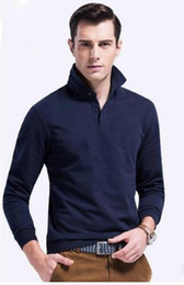 China Autumn New big small horse crocodile Polo Shirt For Men Embroidery Luxury Casual Slim Fit Stylish T Shirt With Long Sleeve lapel shirt cheap stylish polo men suppliers