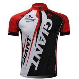 Bicycle Riding Clothing NZ - 2018 GIANT Men Short Sleeve Cycling Jersey Riding Shirts Summer MTB Bicycle Clothing Ropa ciclismo Breathable Mountain Bike Tops 111217Y