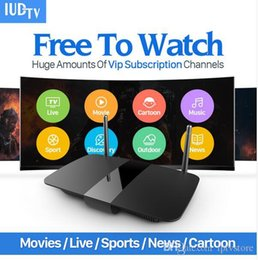 Discount iptv sports channels - Android Smart TV Box IUDTV Code 2000 Channels Movie Sports Europe French Arabic Italy Germany Swedish IPTV Top Box