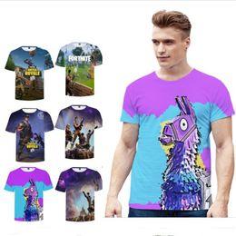 91e21888 Kids Adults Fortnite T-shirt Unisex Summer Boys Men T Shirts Cartoon  Fortnight battle royale 3D print short sleeve O neck tees Tops 2018