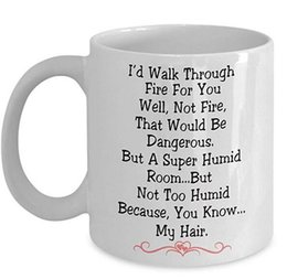 Best Gift For Xmas Australia - I do Walk Thru Fire for You Coffee Ceramic Mug,Tea Cup,Gift for Girlfriend,Funny Merry Christmas,Xmas,Friend,Best,Wife,Wedding