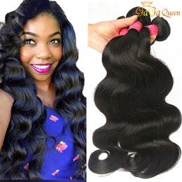 Discount human hair weave natural color - Wholesale 8A Peruvian Body Wave Virgin Hair Unprocessed Peruvian Human Hair Extensions Peruvian Brazilian Malaysian Virg