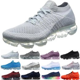 ClassiC athletiC shoes online shopping - 2018 Running Shoes Men Women Classic Outdoor Shoes Black White Sport Shock Jogging Walking Hiking Sports Athletic Sneakers
