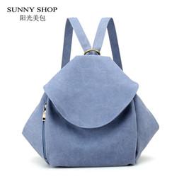 Styles Backpacks Australia - SUNNY SHOP Korean Style Canvas Backpack Female School Backpack Simple Vintage Matte Polished Design Rucksack Women Bag 2018